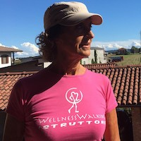 Enrica Querro Istruttrice Wellness Walking