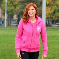 Monica Bellodi, Istruttrice di Wellness Walking