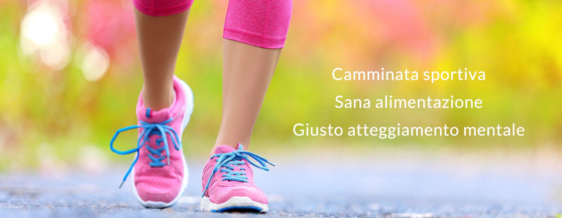 Wellness Walking - Camminata sportiva, sana alimentazione, giusto atteggiamento mentale